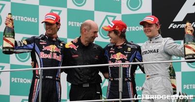 ブリヂストンの2010年マレーシアGP決勝レポート thumbnail