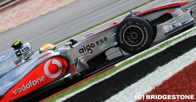 ハミルトン「バランスがいい」中国GP1日目 thumbnail
