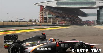 チャンドック「いい基礎を築けた」中国GP1日目 thumbnail
