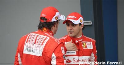 フェラーリ、ドライバー間の不協和音を否定 thumbnail