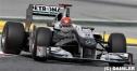 シューマッハ「今回の改良で進歩できた」スペインGP1日目 thumbnail