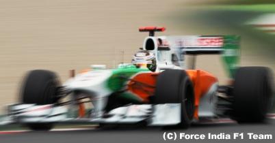 スーティル「素晴らしい成功」スペインGP決勝 thumbnail