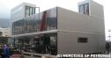 メルセデスGP、モナコで新モーターホームをデビュー thumbnail