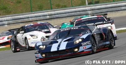 FIA GT第3戦ブルノ、グロジャン/ムッチュ組が2勝目 GT-R3位 thumbnail