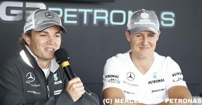 メルセデスGP、来季もドライバーラインアップ維持を希望 thumbnail