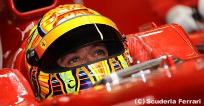 バレンティーノ・ロッシ、3台目のフェラーリでF1参戦を希望 thumbnail