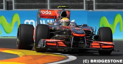 ハミルトン「レースペースはいい」ヨーロッパGP1日目 thumbnail