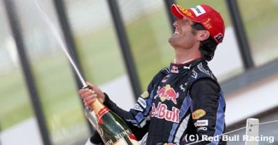 ウェバー「シルバーストンで勝てるなんて最高」イギリスGP決勝 thumbnail