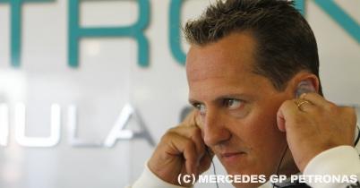 シューマッハのバイクテスト、メルセデスも心配せず thumbnail
