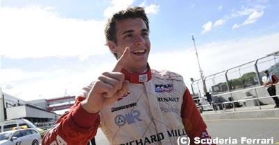 ジュール・ビアンキ=フェラーリ育成ドライバー=、GP2のクラッシュで負傷 thumbnail