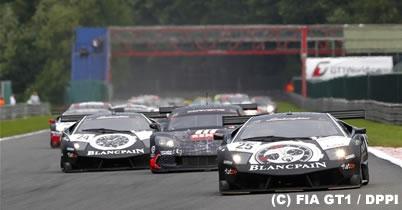 FIA GT1第5戦スパ、ゾンタ/ケーヒル組のランボルギーニが優勝 thumbnail