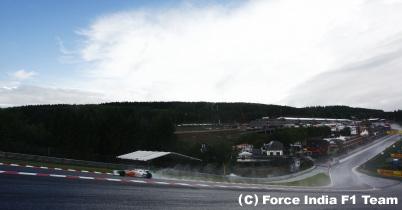 F1ベルギーGP、今のところ雨はなし thumbnail