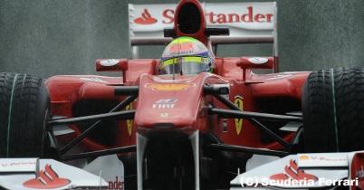 フェラーリのウイングも変更なし thumbnail