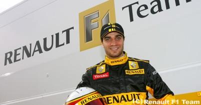 ジェローム・ダンブロシオ、ルノーから若手F1テストに参加か thumbnail