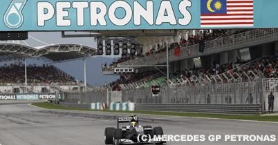 ぺトロナス、F1マレーシアGPのタイトルスポンサー契約延長 thumbnail
