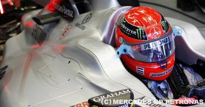 メルセデスGP、ミハエル・シューマッハに合わせた2011年型車の設計を否定 thumbnail