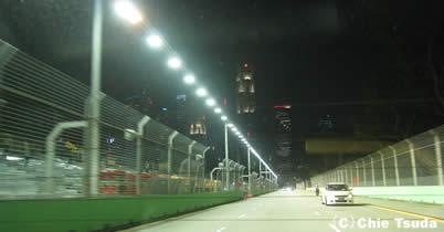 写真で巡るF1シンガポールGP=マリーナ・ベイ・サーキット=コース内の様子 thumbnail