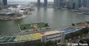 写真で巡るF1シンガポールGP=マリーナ・ベイ・サーキット=コース近くのホテルより thumbnail