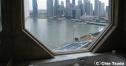 写真で巡るF1シンガポールGP=マリーナ・ベイ・サーキット=ホテルのバスルームより thumbnail