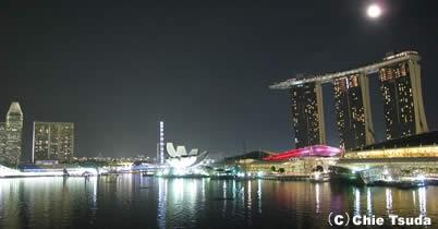 写真で巡るF1シンガポールGP=マリーナ・ベイ・サーキット=中秋の名月とともに thumbnail