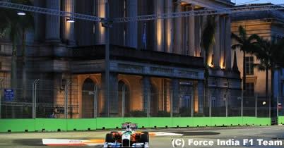 縁石でクラッシュのエイドリアン・スーティルに1万ドルの罰金=F1シンガポールGP thumbnail