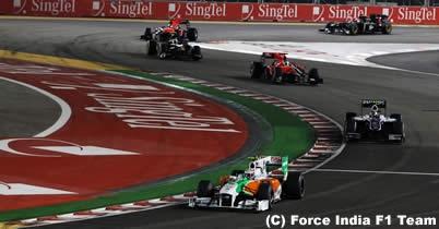 ビタントニオ・リウッツィ「いい位置でフィニッシュできたはず」/シンガポールGP決勝 thumbnail