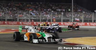 エイドリアン・スーティルとニコ・ヒュルケンベルグに20秒加算ペナルティー=F1シンガポールGP thumbnail