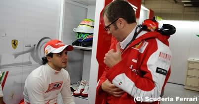 フェラーリ、フェリペ・マッサに「最後通告」? thumbnail