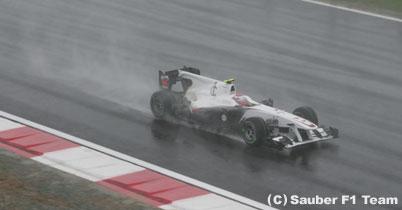 小林可夢偉「とにかく生き残ったというレース」 thumbnail