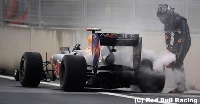 セバスチャン・ベッテルのエンジンが厳しいと認めるレッドブル thumbnail
