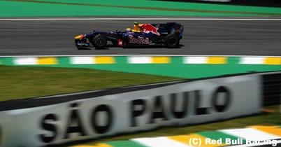マーク・ウェバー「いい結果を残せるはず」/ブラジルGP1日目 thumbnail