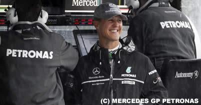 F1界のボス、ミハエル・シューマッハに激怒 thumbnail