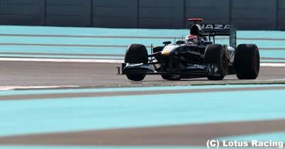 ヤルノ・トゥルーリ「シーズン最後の予選で新規チームのトップ」/アブダビGP2日目 thumbnail