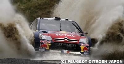 WRCラリー・グレートブリテン、セバスチャン・ローブが最終戦も優勝 キミ・ライコネンは8位 thumbnail