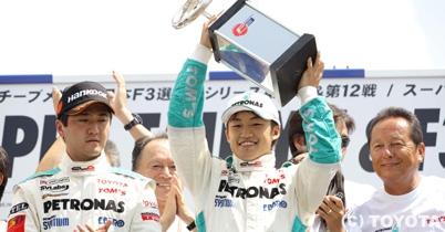 独占インタビュー、トムス監督の関谷正徳氏と全日本F3王者の国本雄資選手 thumbnail