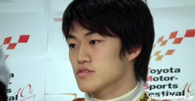 全日本F3王者の国本雄資、2011年は海外を目指す thumbnail