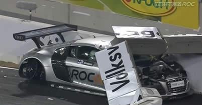 【動画】レース・オブ・チャンピオンズ、ヘイキ・コバライネンが意識を失ったクラッシュ thumbnail