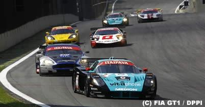 FIA GT第9戦インテルラゴス、エンリケ・ベルノルディ/アレクサンドレ・ネグラオ組のマセラティが優勝 thumbnail