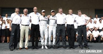 メルセデス、F1撤退の可能性を否定 thumbnail