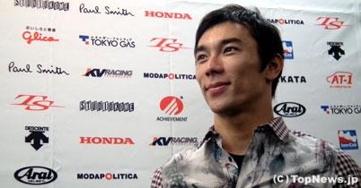 佐藤琢磨インタビュー「年内には契約を決めたい」 thumbnail