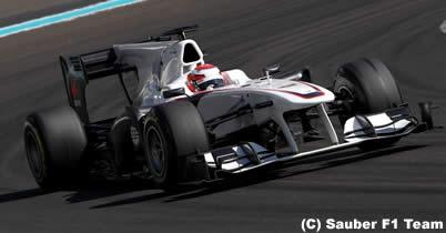 ザウバー、2011年型車C30の発表日を決定 小林可夢偉の来季F1マシン! thumbnail