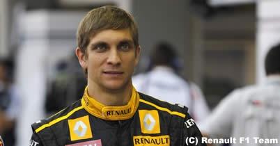 F1 2011年シーズンに向け、ルノーでドライバー交代は? thumbnail