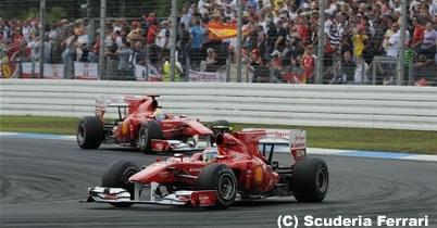 F1 2011年からチームオーダー禁止ルールを撤廃 thumbnail