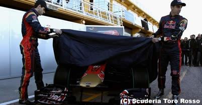 F1 2011年 新車発表 トロ・ロッソが日程を発表 thumbnail