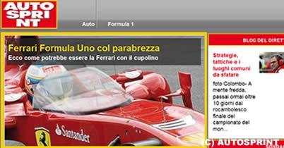 F1、頭部保護のためウインドスクリーン導入か thumbnail
