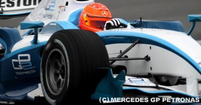 シューマッハ、GP2テスト最終日に好タイムを記録 thumbnail