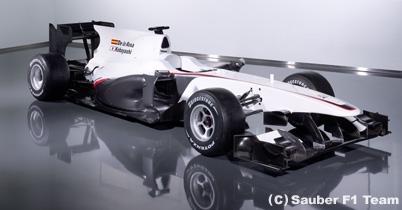 ザウバー、2010年型車C29を発表 thumbnail