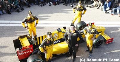 ルノー、2010年型車R30を発表 thumbnail